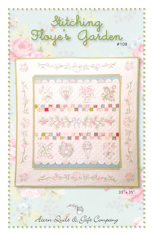Stitching Floye's Garden