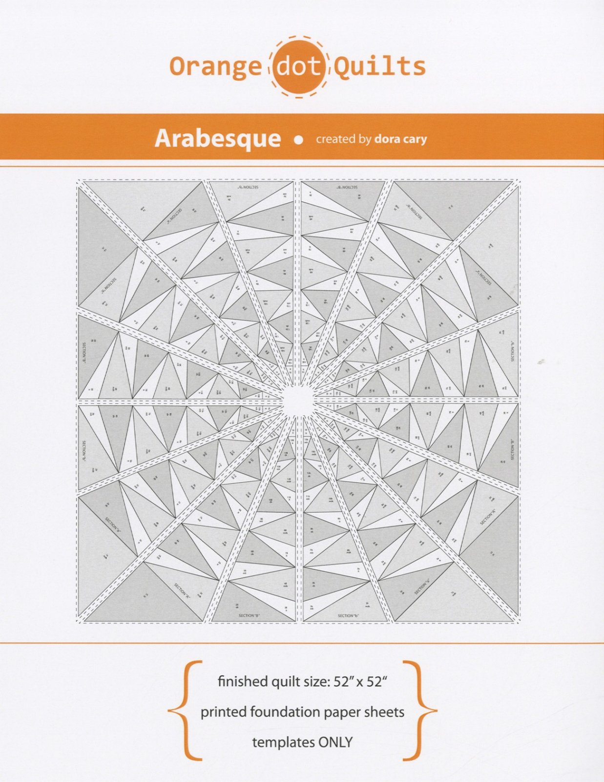Arabesque FPP Template (only)