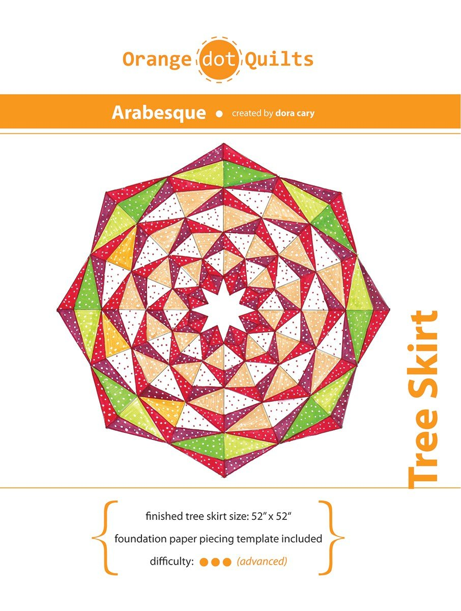 Arabesque Tree Skirt