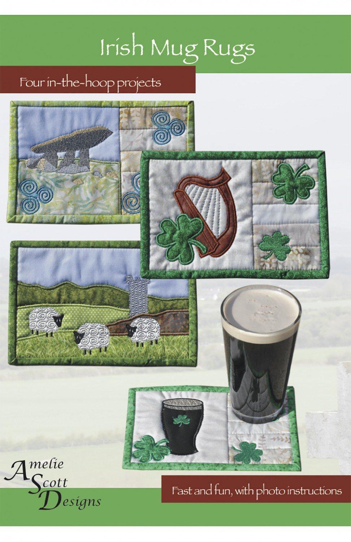 Irish Mug Rug