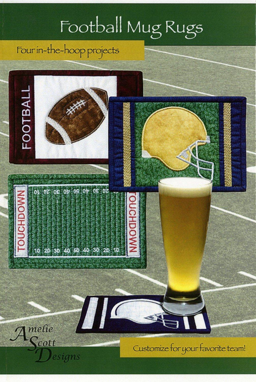 Football Mug Rugs