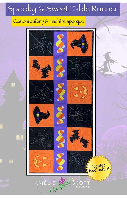 Spooky & Sweet Table Runner