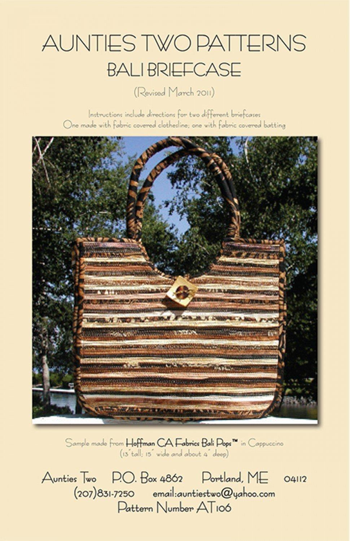 Bali Briefcase - Clothesline Crafts