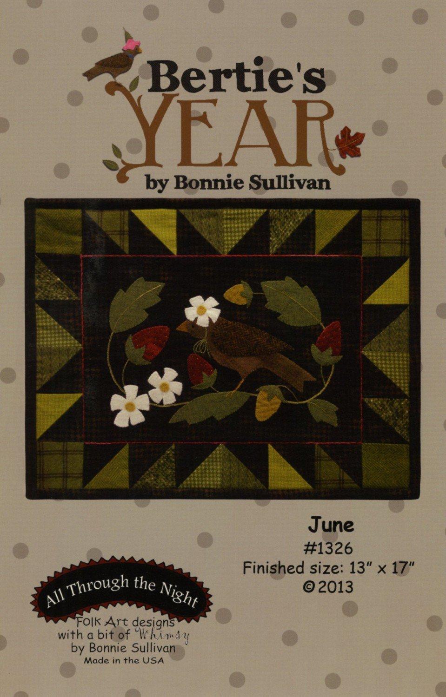 Bertie's Year - June