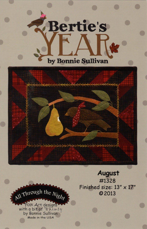 Bertie's Year - August