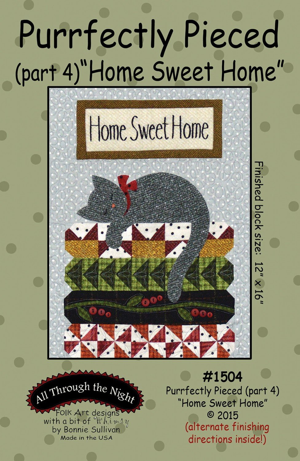 Purrfectly Pieced 4 Home Sweet Home