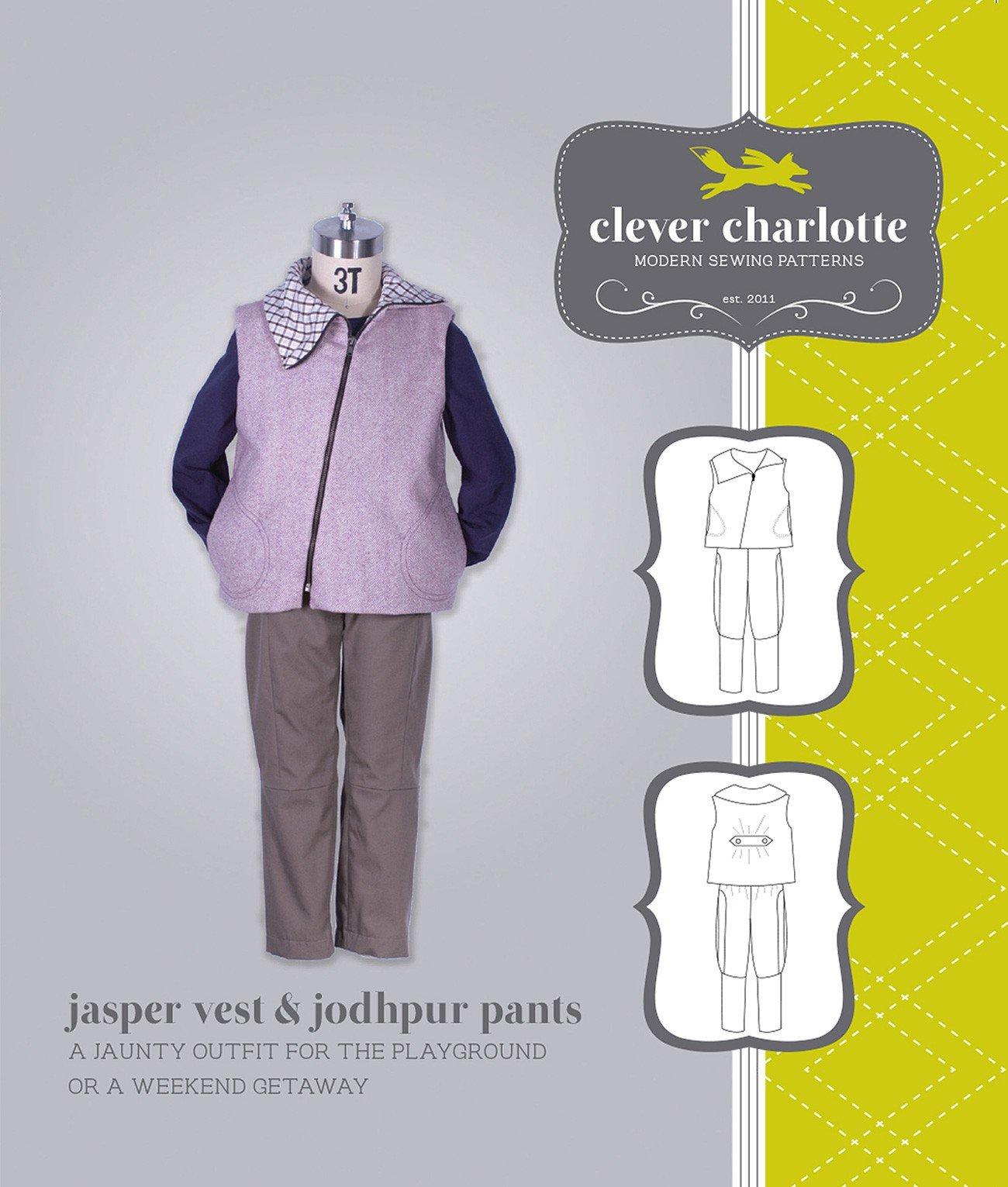 Jasper Vest & Jodhpur Pants