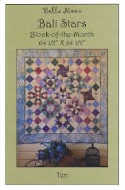 Bali Stars Block-of-the-Month