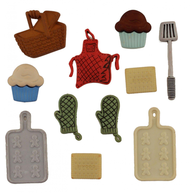 Button Bag Baking
