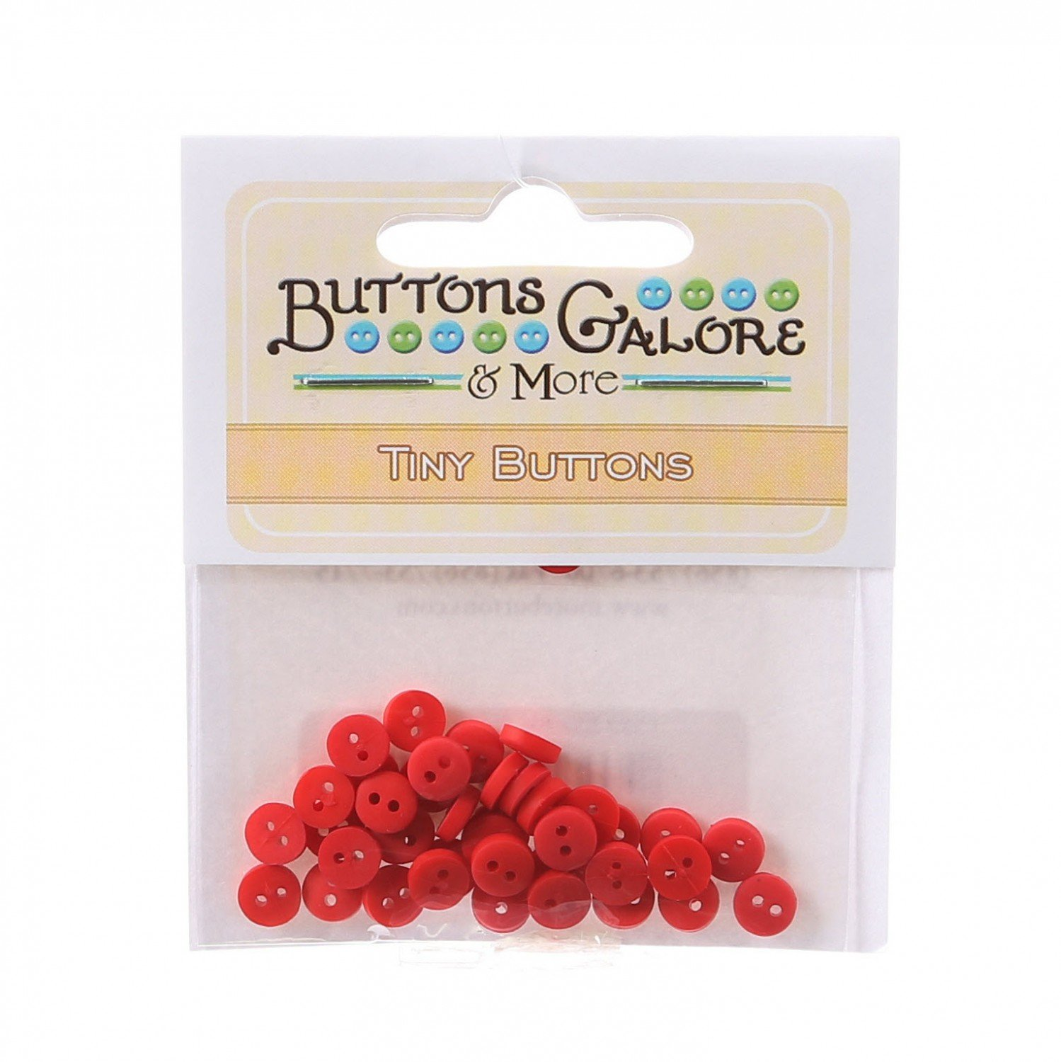 Tiny Red Buttons