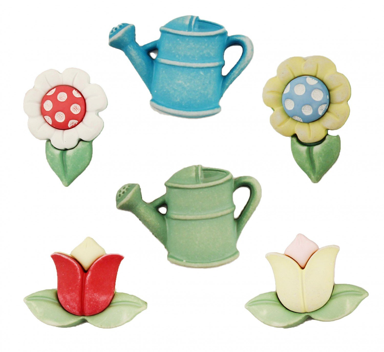 Spring Fling Garden Treasures Buttons