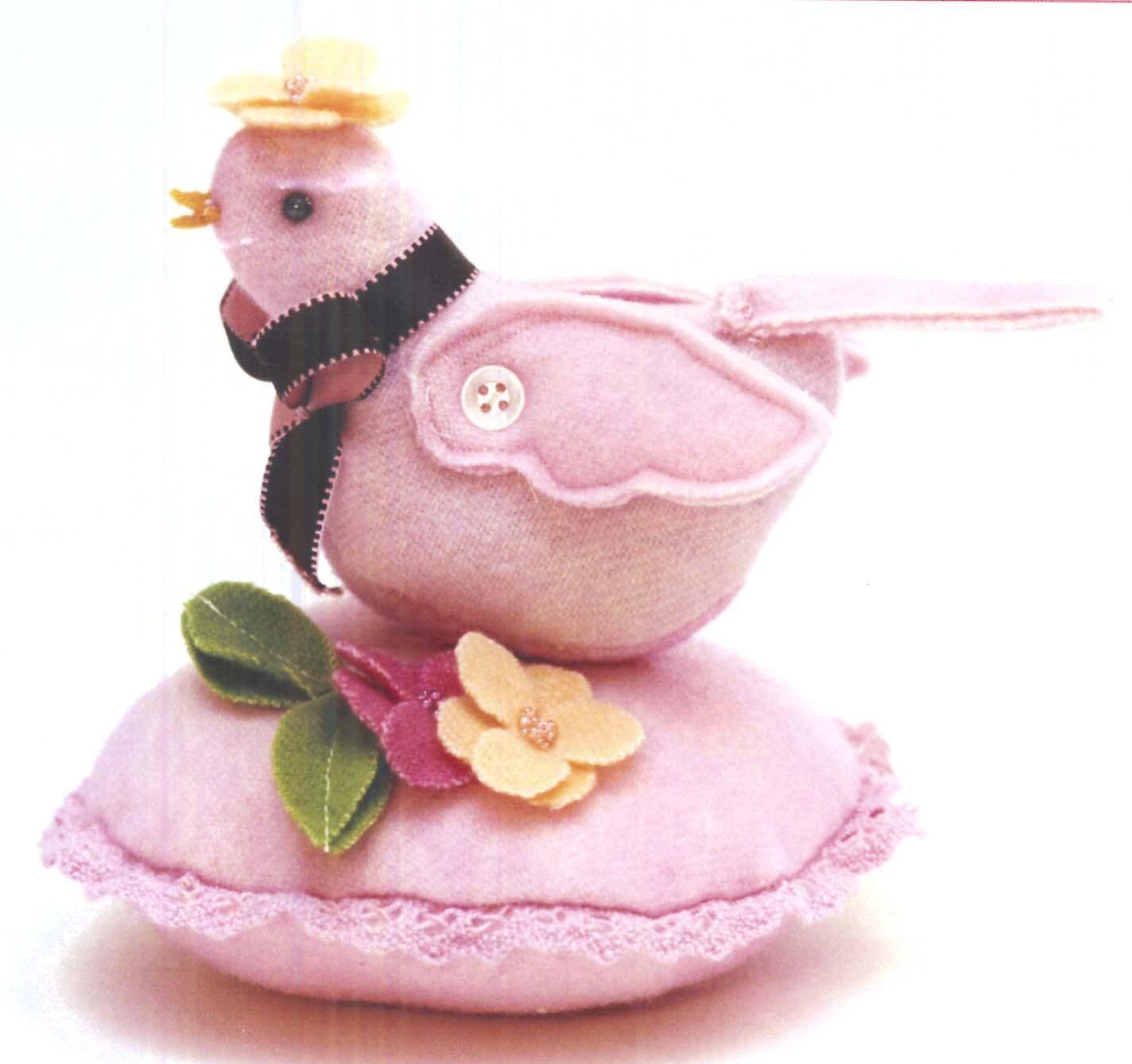 Bitty Bird Pincushion