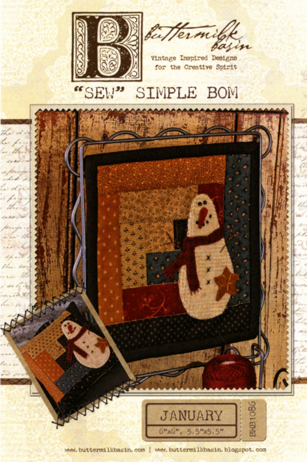 Sew Simple Block of the Month January
