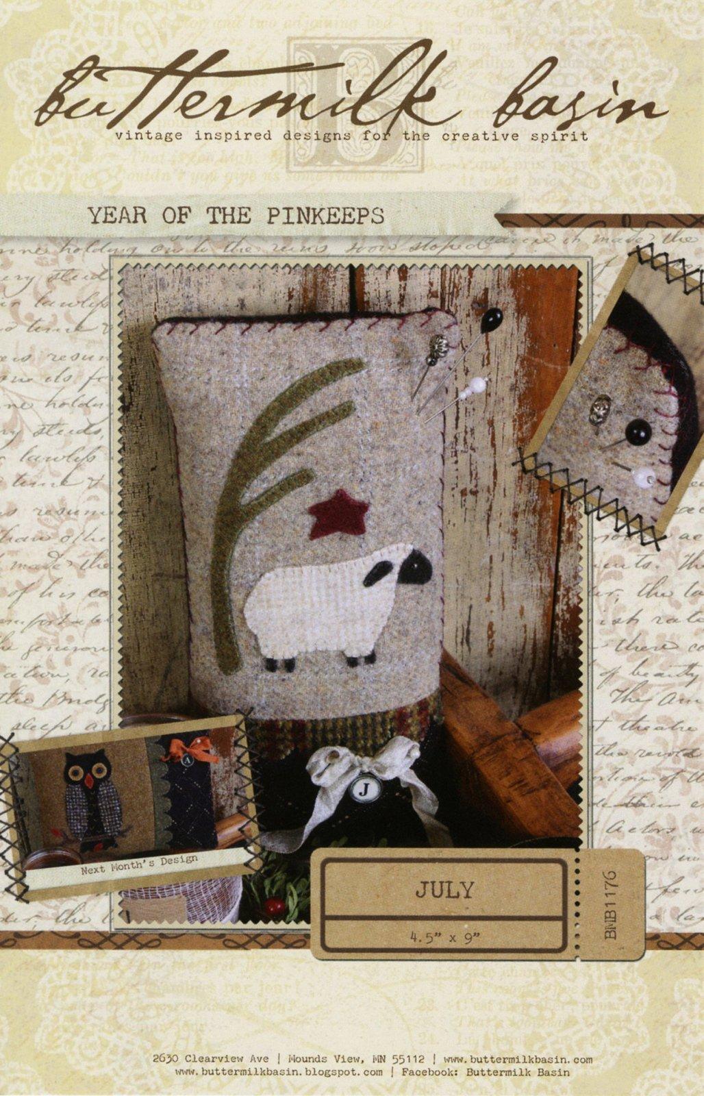 Year of the Pinkeeps July Sheep