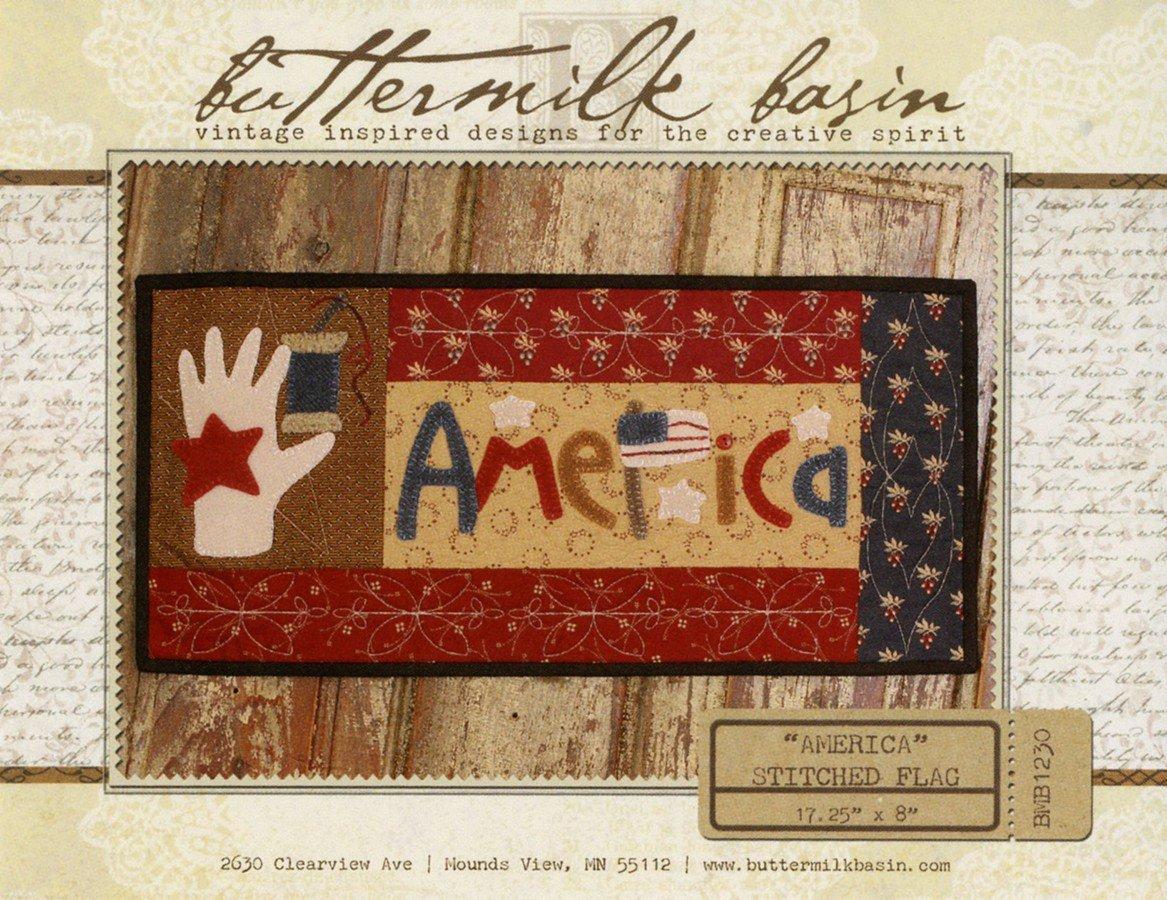 America Stitched Flag