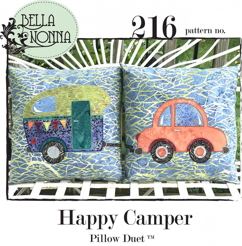 Happy Camper Pillow Duet