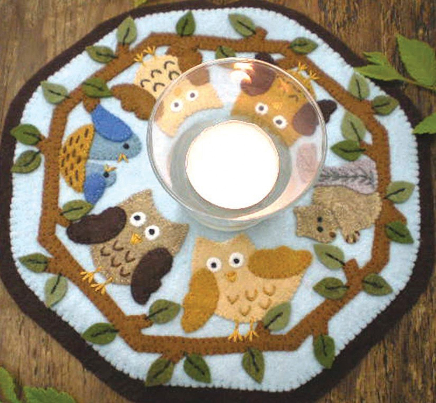 Candle Mat In the Woods Kit