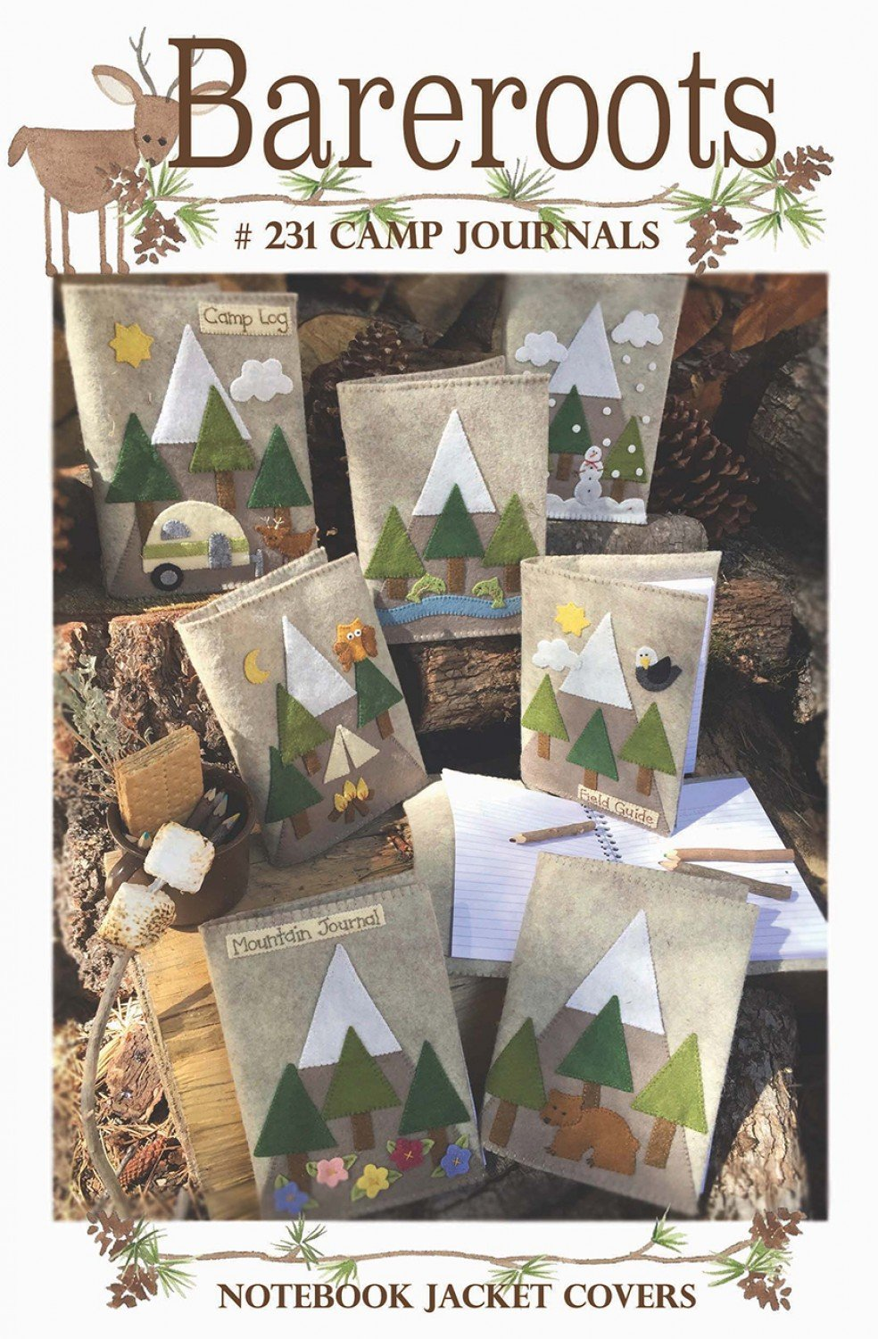 Camp Journal Notebook Jacket Covers