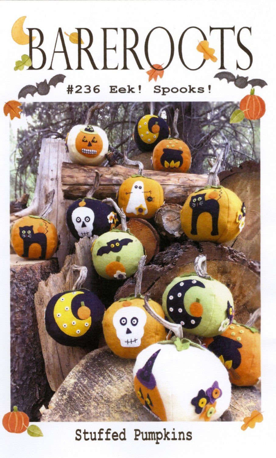 Eek! Spooks! Stuffed Pumpkins