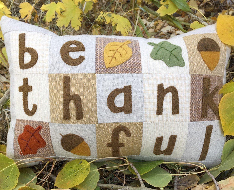 Be Thankful Little Pillow Kit