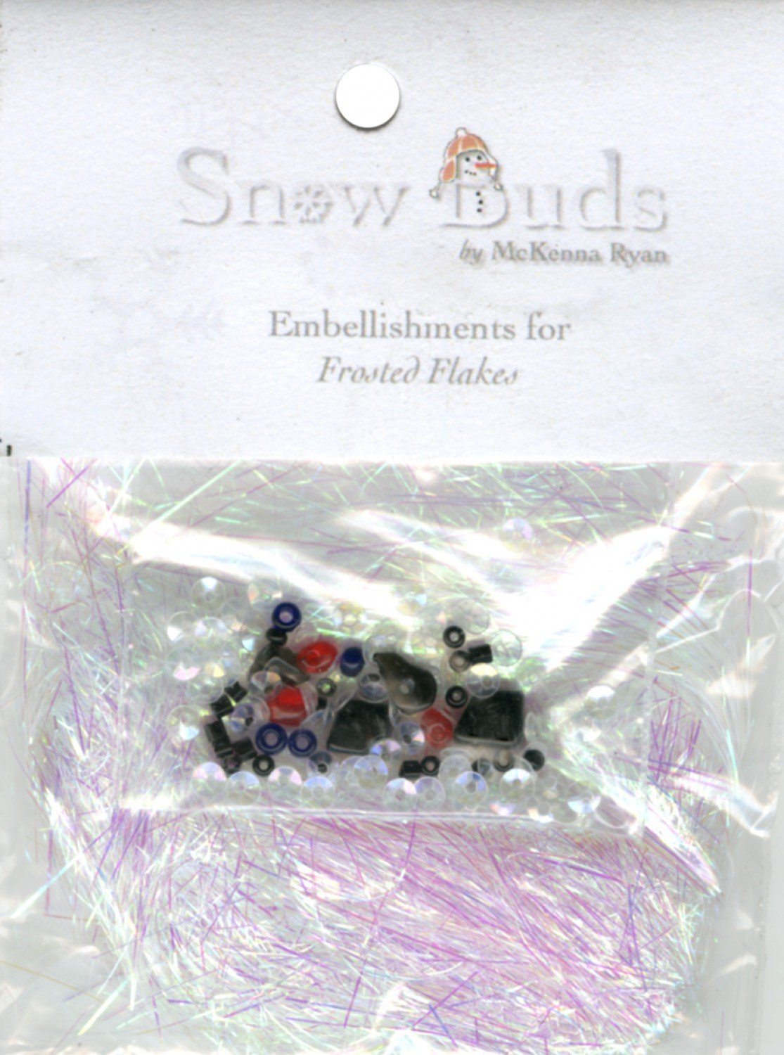 Embellishment Kit Snow Buds - BUD05 Frosted Flakes