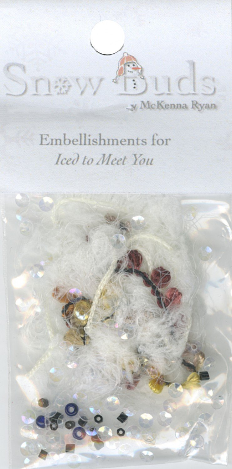 Embellishment Kit Snow Buds - BUD07 Iced To Meet You