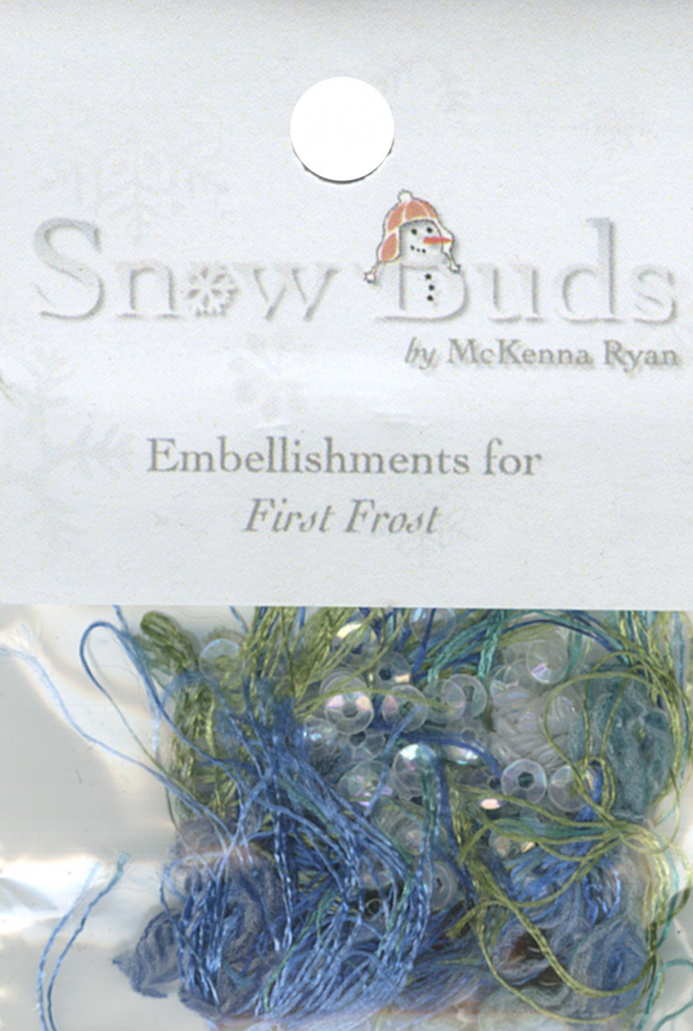 Embellishment Kit Snow Buds - BUD09 First Frost