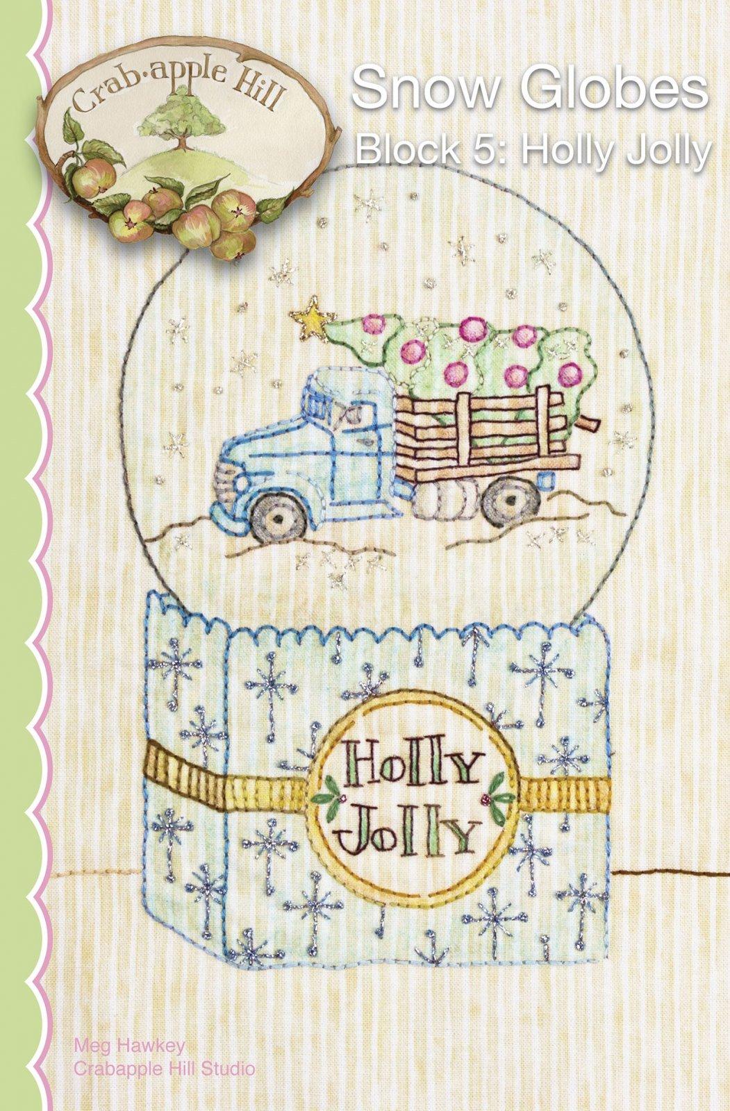 Snow Globes - 5 - Holly Jolly
