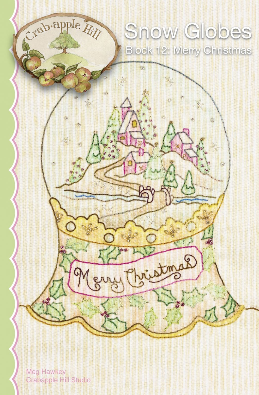 Snow Globes - 12 - Merry Christmas