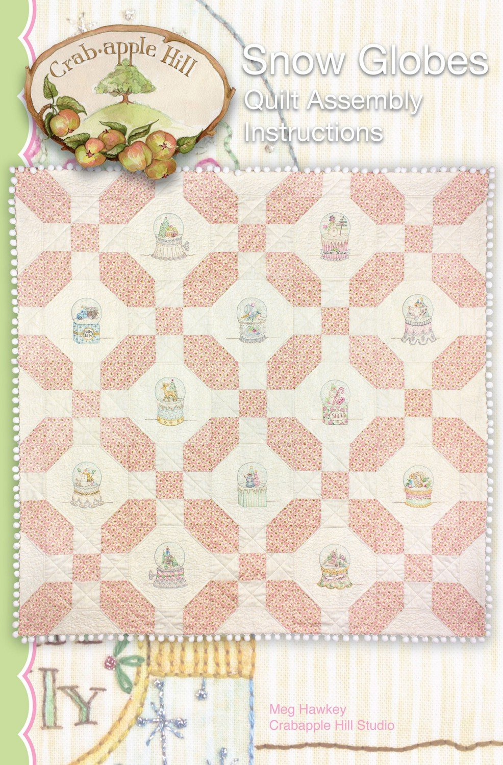 Snow Globes Quilt Assembly Instructions