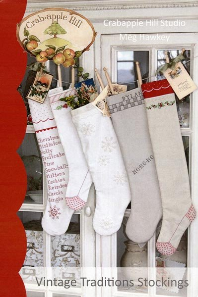 Vintage Traditions Stocking Pattern