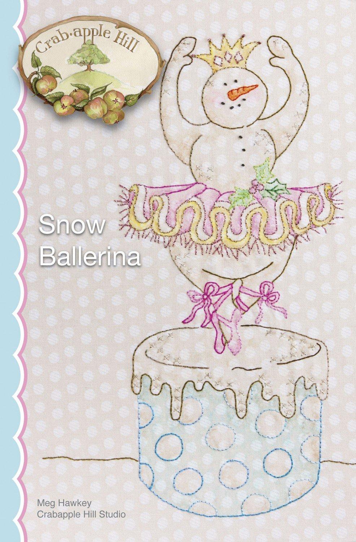 Snow Ballerina Wall Hanging Thread & Pen Kit