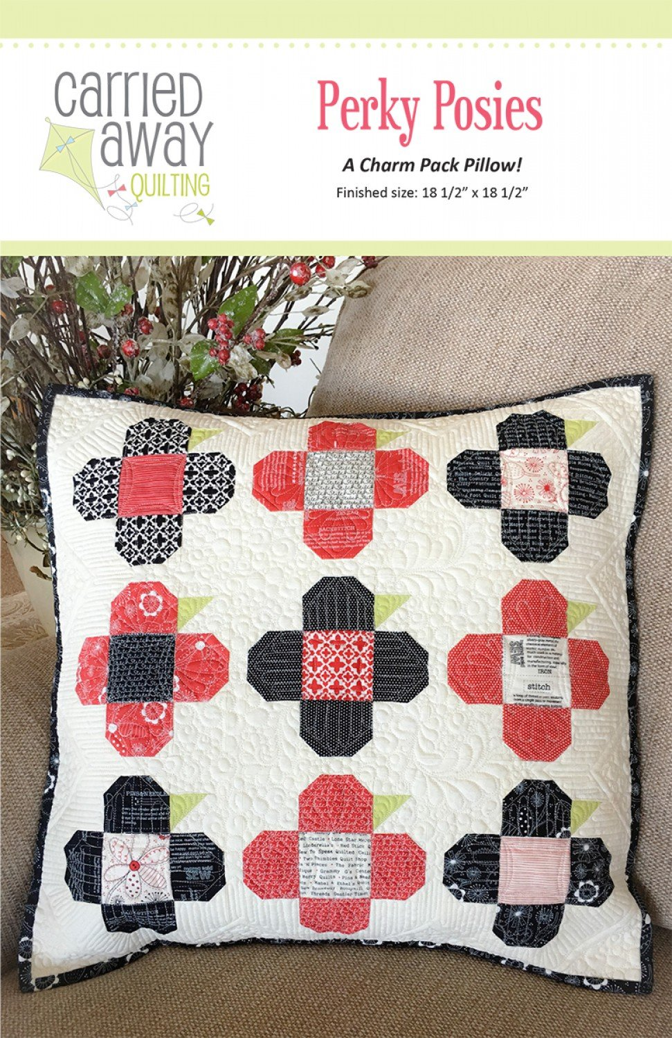 Perky Posies By Taunja Kelvington From Carried Away Quilting
