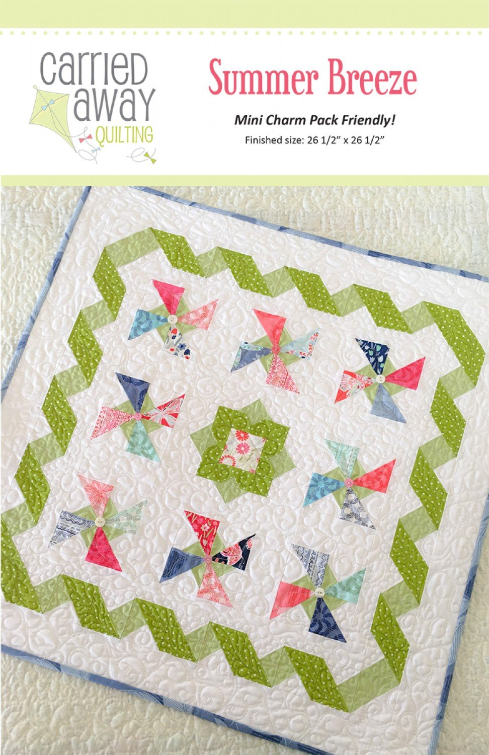 Summer Breeze By Taunja Kelvington From Carried Away Quilting