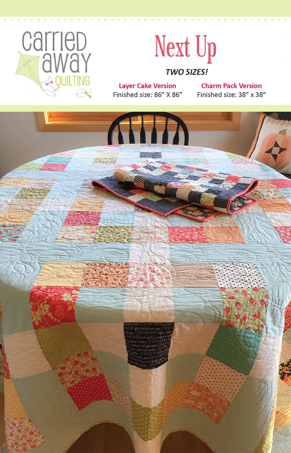 Next Up By Taunja Kelvington From Carried Away Quilting
