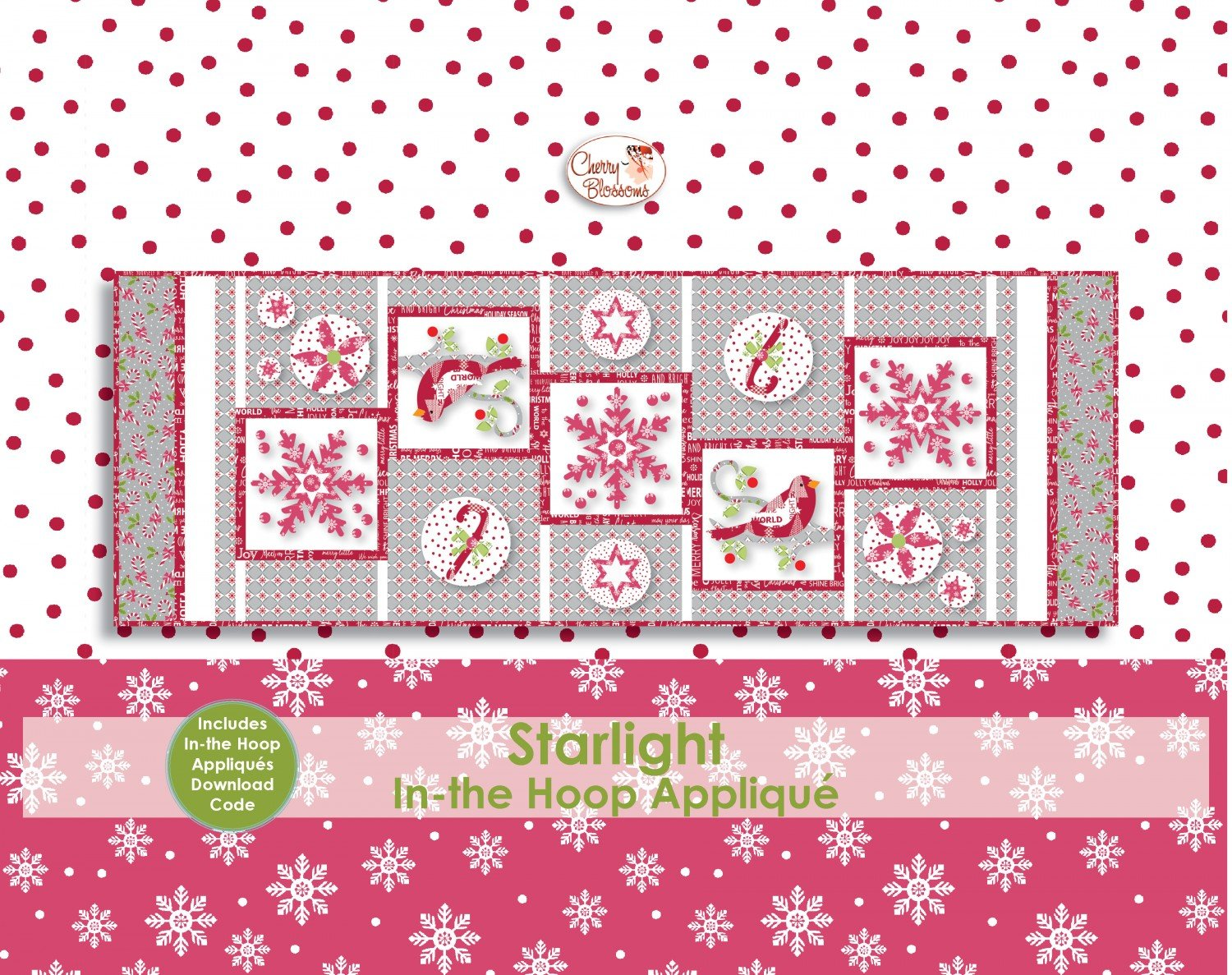 Starlight with In the Hoop Applique