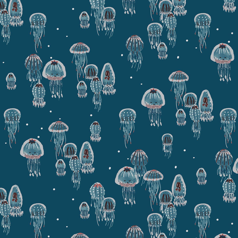 Kaikoura - Drifting Jellies - Ocean Pearlescent  - 300600-006