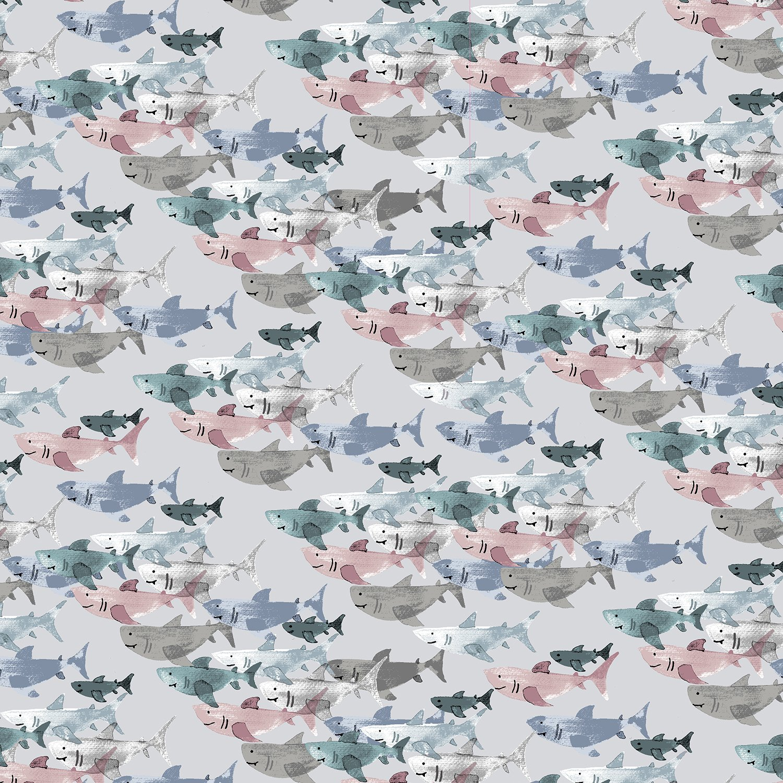 Kaikoura - Shark Frenzy - Cloud - 300600-008