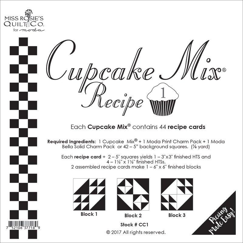 Moda Cupcake Mix Recipe 01
