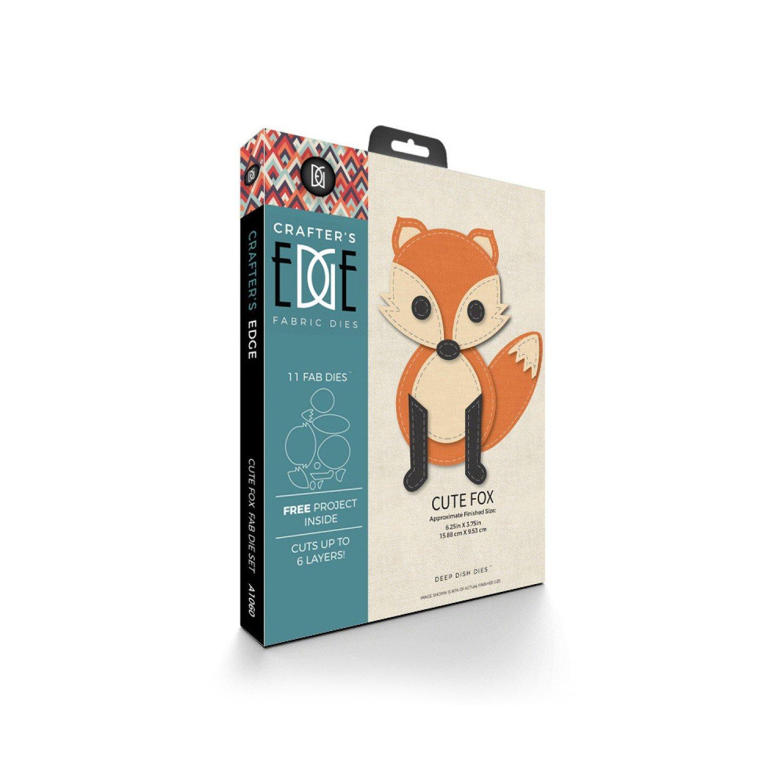 Cute Fox 11pc Die Set