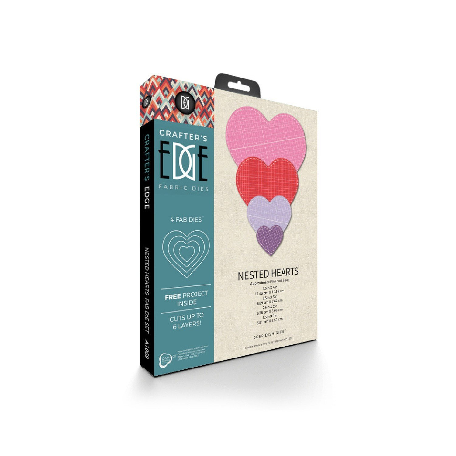 Nested Hearts 4pc Die Set