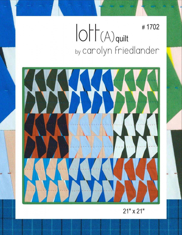 Lott A Quilt Pattern