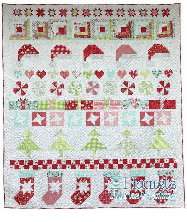 Christmas Cheer Quilt Kit
