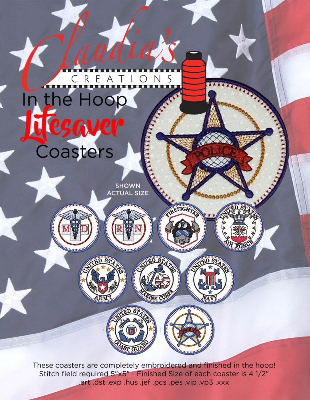 Lifesaver Coasters