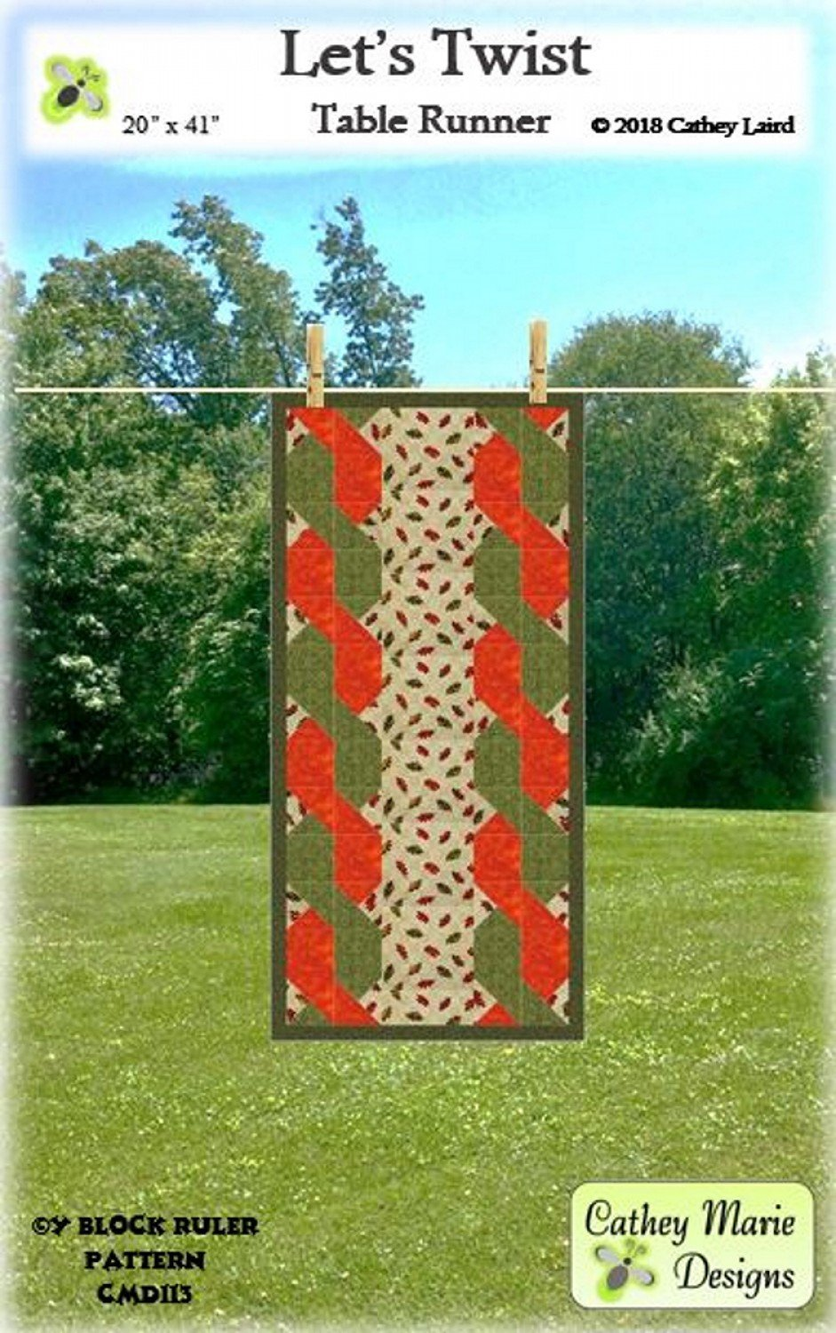 Lets Twist Table Runner