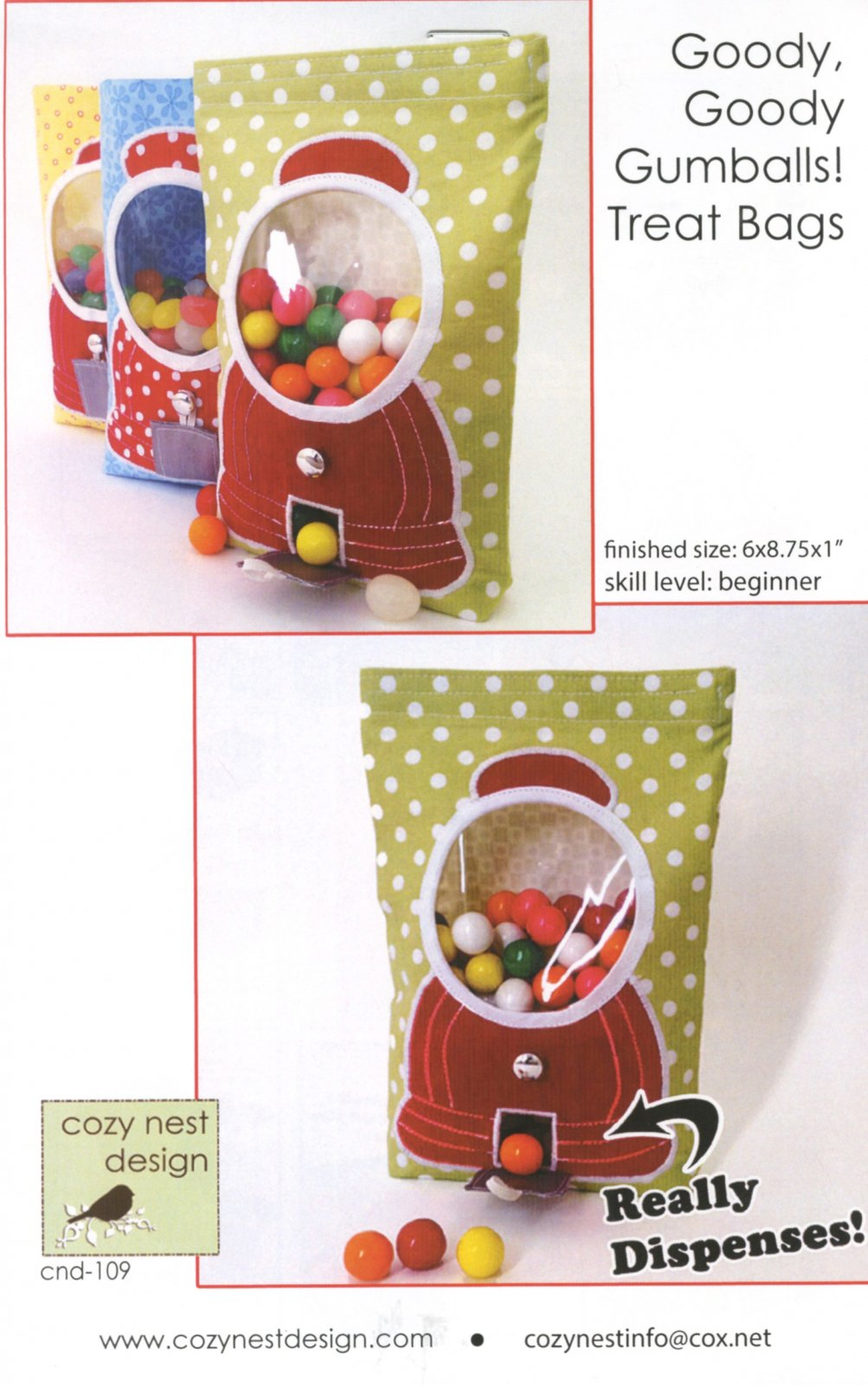 Goody Goody Gumballs Treat Bags