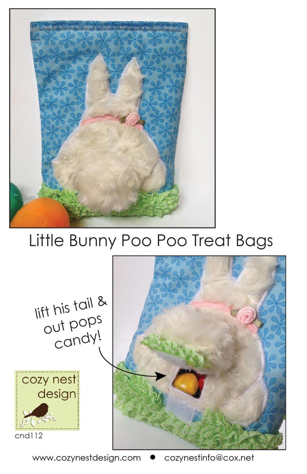Little Bunny Poo Poo Treat Bag