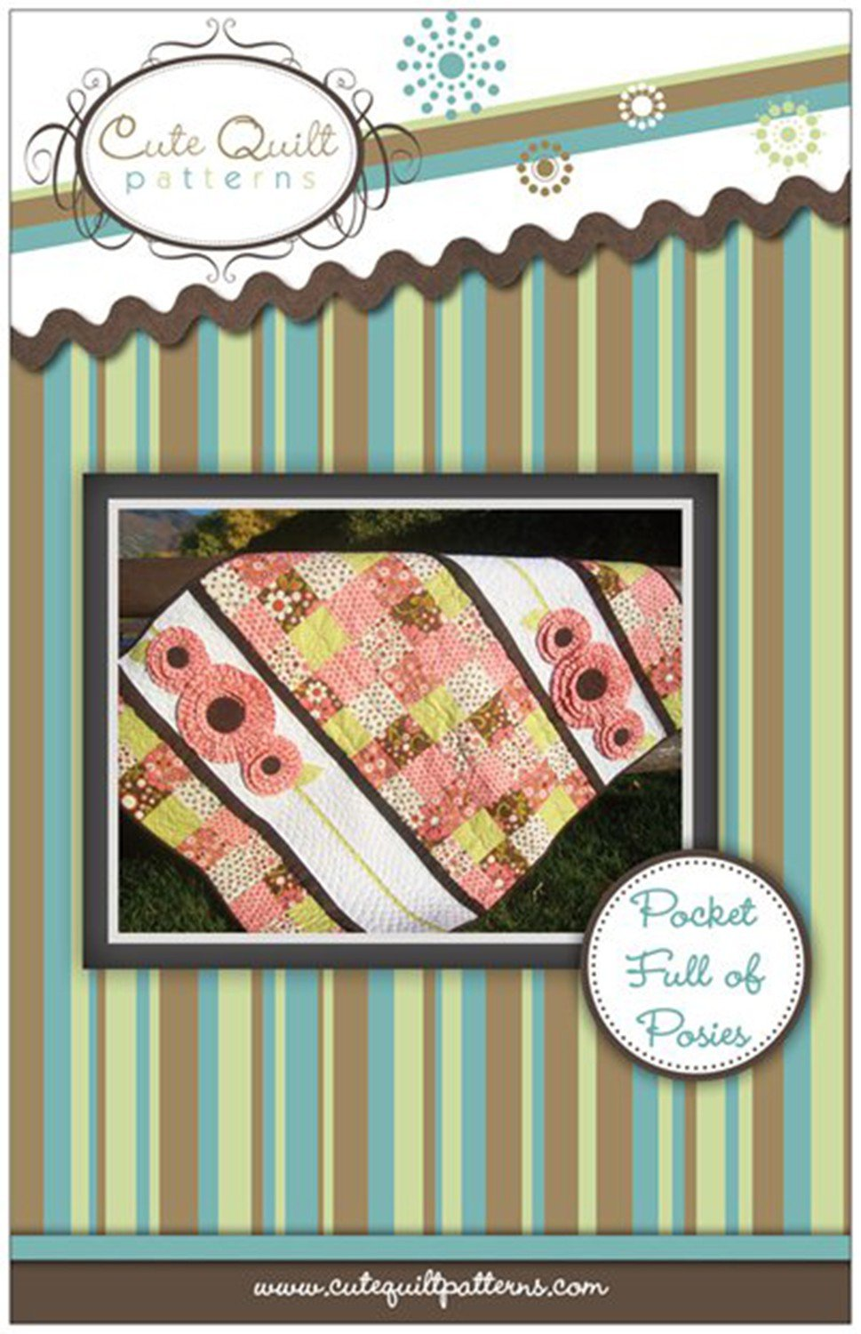 Pocket Of Posies Quilt Pattern.Pocket Full Of Posies Quilt