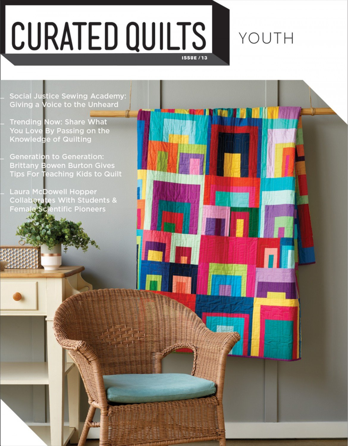 Curated Quilts Quarterly Journal Issue 13