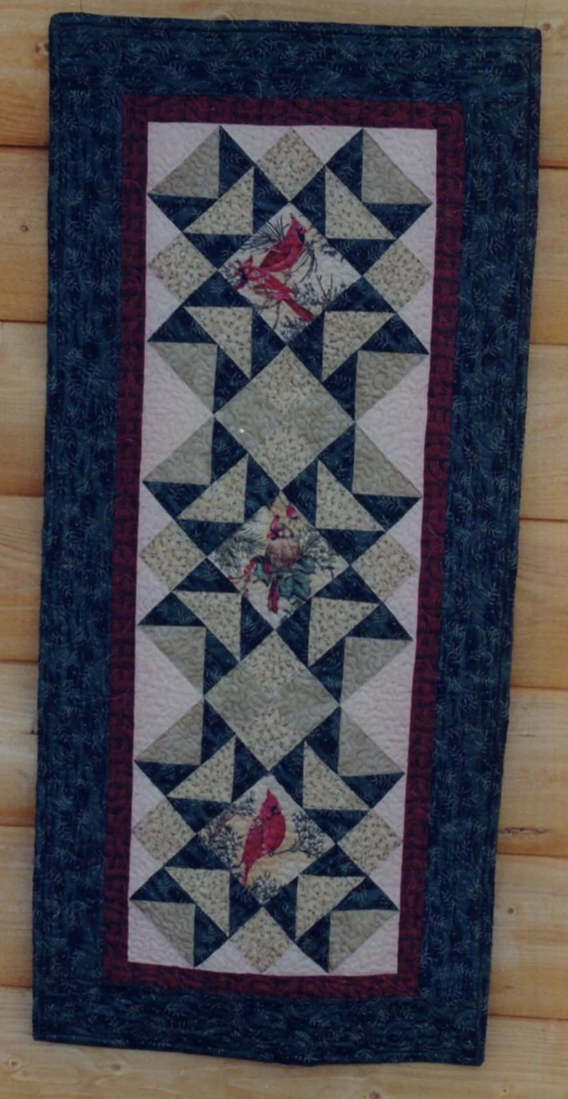 Star of the North Table Runner or Wall Quilt